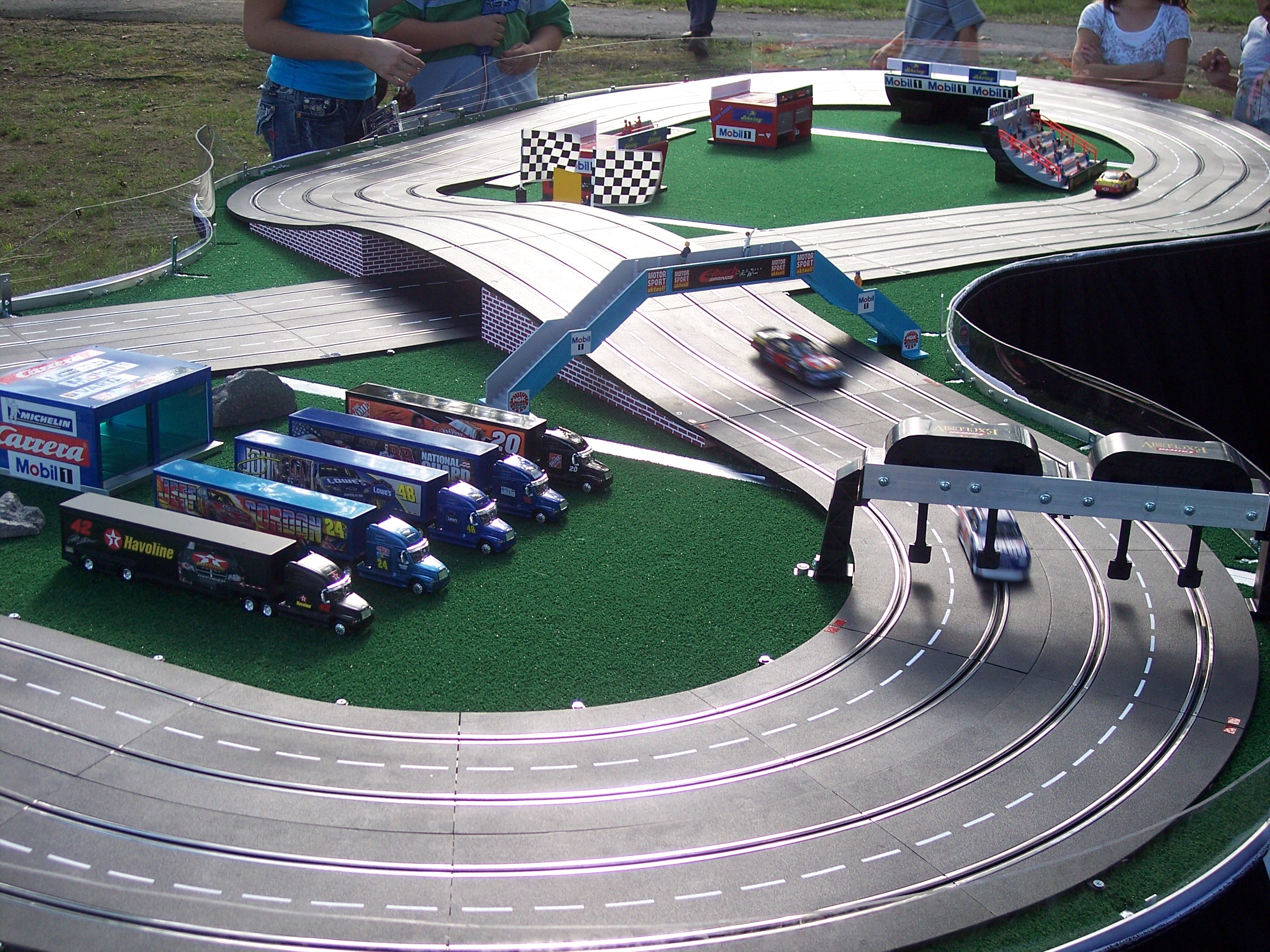 361319011089 further Ptm292 moreover Slotcar Track Based On The Rc Backyard Track Layout likewise Watch furthermore Photo 04. on slot car track building supplies